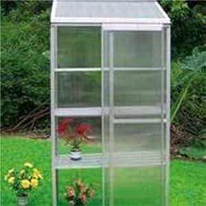 Mini greenhouse kits panels made of for Apartment greenhouse kits