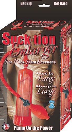 NASSTOYS Suck-ción impermeable ampliadora bomba del pene, Red