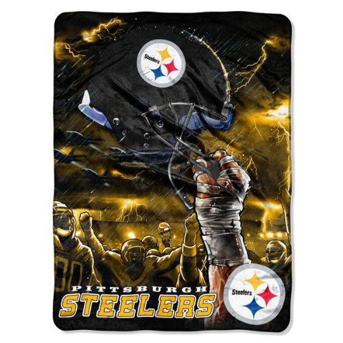 Pittsburgh Steelers 60x80 Royal Plush Raschel Throw Blanket