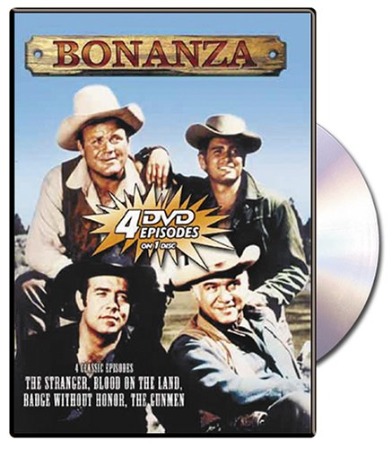 Bonanza: The Stranger/Blood on the Land/Badge Without Honor/The Gunmen