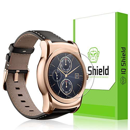 IQ Shield LiQuidSkin [6-Pack] - LG Watch Urbane Screen Protector with Lifetime Replacement Warranty - High Definition (HD) Ultra Clear Smart Film - Premium Protective Screen Guard - Extremely Smooth / Self-Healing / Bubble-Free Shield - Kit comes in