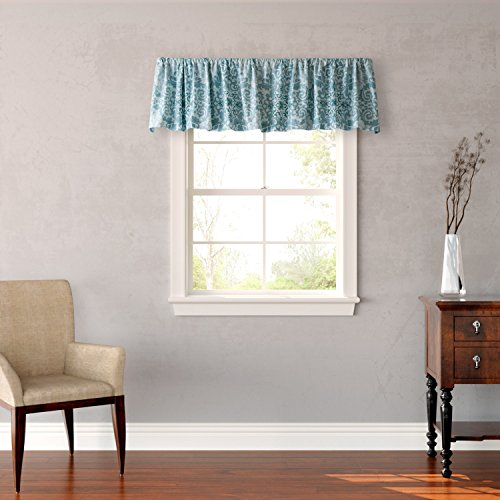 Stone Cottage Valencia Window Valance, Blue