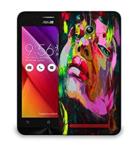 Snoogg Shyla Painting Designer Protective Back Case Cover For Asus Zenfone GO