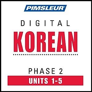 Korean Phase 2, Unit 01-05 Audiobook