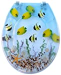Tropical Fish Resin Toilet Seats