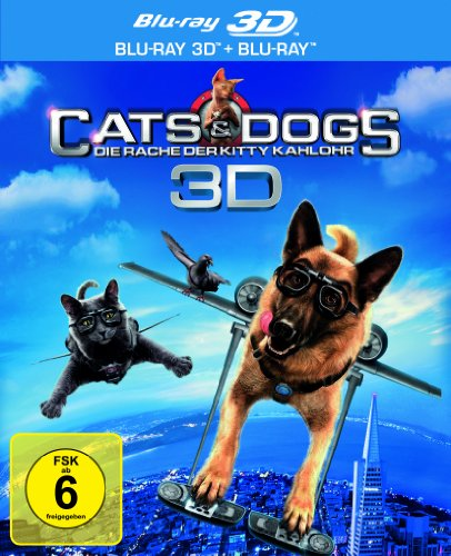 Cats & Dogs: Die Rache der Kitty Kahlohr (+ Blu-ray) [Blu-ray 3D]