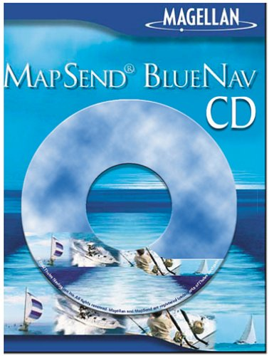 Magellan MapSend BlueNav North America Salt/Freshwater Map CD-ROM (Windows)