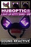 JP0 Light Up DJ Ears Cosplay Ears Cyber Style Dancers EDM Ears - Futuristic Ears LED Ears Costume