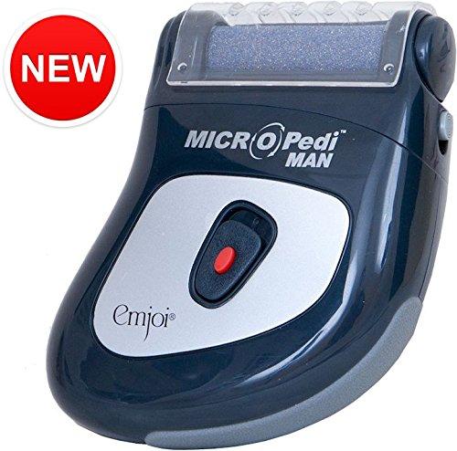 Emjoi Micro-Pedi Man Callus Remover - Tough Calluses (Super Coarse Roller)