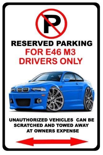 2001-06 Bmw M3 Exotic Car No Parking Sign