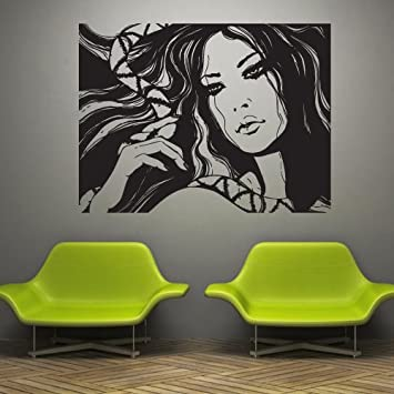 Amazon.com: Wall Decal Decor Decals Art Girl Beauty Grace ...