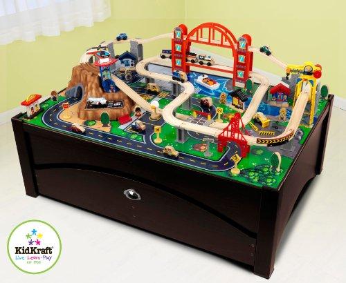 Metropolis Train Table and Set