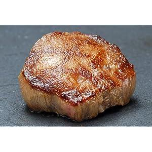 黒毛和牛、タン元のタンステーキ