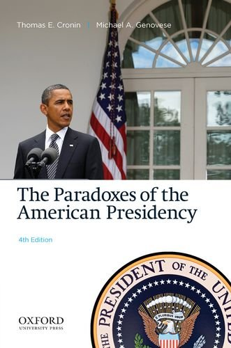 Image for publication on The Paradoxes of the American Presidency