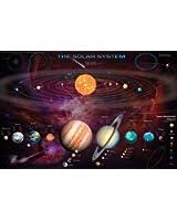 1art1 54379 Poster Système Solaire avec Objets Transneptuniens 91 x 61 cm