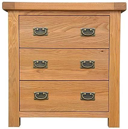 Hagley Schlafzimmer Kommode mit 3Schubladen Holz