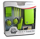echange, troc iMP Gaming Green 13-in-1 Travel Pack for DS Lite (Nintendo DS) [Import anglais]