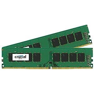 Crucial [Micron製] DDR4 デスク用メモリー 8GB x2 ( 2133MT/s / PC4-17000 / CL15 / 288pin / DR x8 Unbuffered DIMM ) 永久保証 CT2K8G4DFD8213