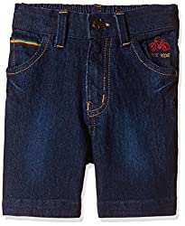 Seals Boys' Shorts (AM8081_1_DARK BLUE_4)