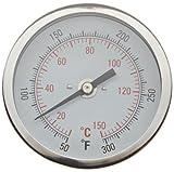 H-B Instrument 21610 Durac Bi-Metallic Dial Thermometer, with 1/2