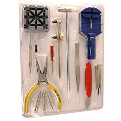 Watch Tool Kit Band Sizing Link Removal Battery Changing Repair Set 16 Tools Economical