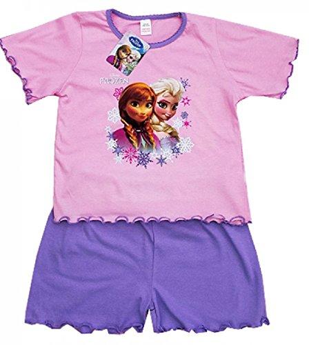 Disney Frozen Princess Elsa Anna Girls Shortie Pajama 18-24 Months front-92605