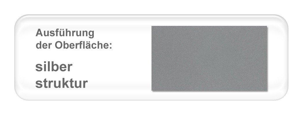hochwertiges Metallbett Weda komplett, Varianten, Bett + Lattenrost + Matratze, Jugendbett Doppelbett Ehebett, Liegefläche:200 x 200 cm;Farben:silber struktur günstig online kaufen