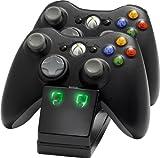 Xbox 360 - Twin Charging Cradle, schwarz [UK Import] hergestellt von Venom
