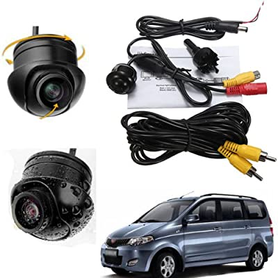 Elecs Car Rearview Back-up LED Waterproof Color Camera With Parking Lines & Night vision