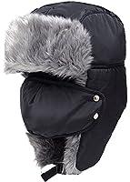 ODEMA Unisex Nylon Russian Style Winter Ear Flap Hat