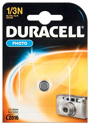 "DURACELL Lot de 6 Piles lithium ""Photo"" 1/3 N (CR1/3N/2L76) 3V Blister de 1"
