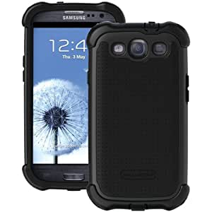 Ballistic SX0932-M005 MAXX Case with Holster for Samsung Galaxy S3 - Black