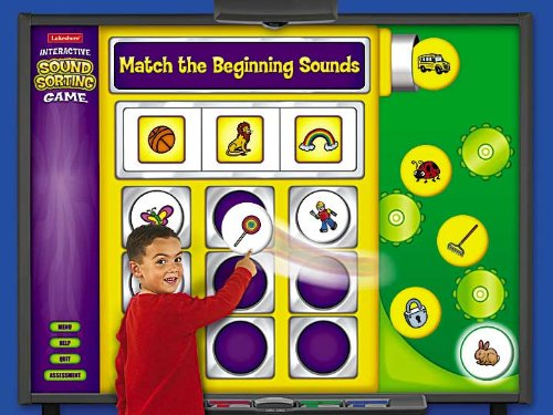 Interactive Beginning Sounds Game