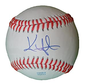 Kenny Lofton Autographed Signed ROLB Baseball, New York Yankees, Cleveland Indians,... by Southwestconnection-Memorabilia