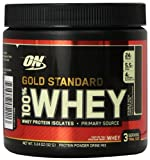 Optimum Nutrition 100% Whey Gold Standard Protein Powder Drink Mix, Double Rich Chocolate, 3.24 Ounce
