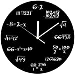 Decodyne Math Clock - Unique Wall Clo...