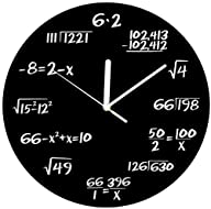 Decodyne Math Clock – Unique Wall Clo…