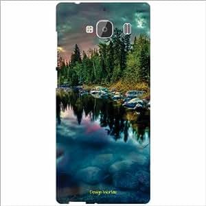 Design Worlds Back Cover Case For Xiaomi Redmi 2 Prime (Multicolor)