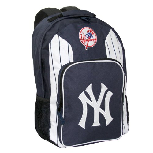 MLB New York Yankees SouthPaw Backpack, Blue at Amazon.com