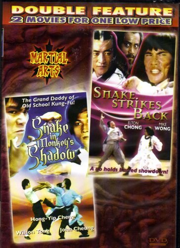 Snake in Monkey's Shadow+Snake Strikes Back[Slim Case]Martial Arts[Double Feature] by Eagle Han Ying--/--Sum Cheung