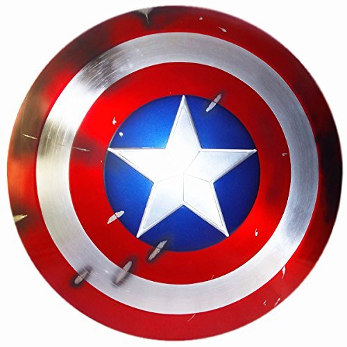 Gmasking Aluminum Alloy Captain America Adult Shield 1:1 Replica