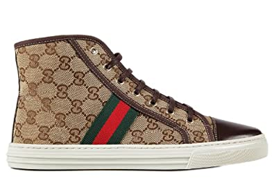 gucci damenschuhe damen schuhe high sneakers softy tech braun eu 41 283613 fwcs 09780. Black Bedroom Furniture Sets. Home Design Ideas