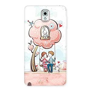Gorgeous Swing Love Multicolor Back Case Cover for Galaxy Note 3