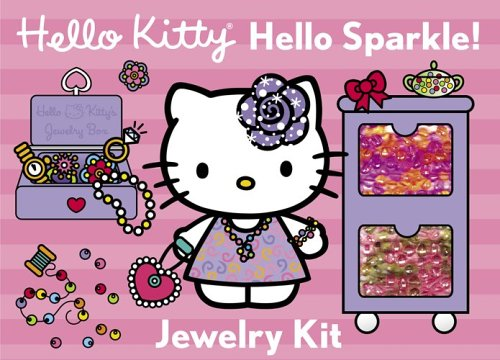 Hello Kitty Hello Sparkle!: Jewelry Kit [With Elastic String and Colored Beads]