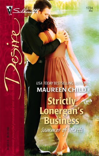 Image for Strictly Lonergan's Business (Silhouette Desire)