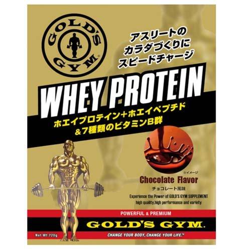 GOLD'S GYM ゴールドジム サプリメント ホエイプロテイン+ホエイペプチド&ビタミン チョコレート風味 1500g F5515