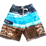 Mens E-Board Shorts 2 Side Pockets, Coin Pocket, Side Pocket. Faux Fly, Lined