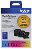 Brother Printer Innobella LC1013PKS LC101 3pack Standard Yield Color Ink