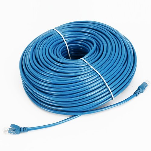Cable N Wireless Blue 200FT CAT5 CAT5e RJ45 PATCH ETHERNET NETWORK CABLE For PC, Mac, Laptop, PS2, PS3, XBox, and XBox 360 to hook up on high speed internet from DSL or Cable internet. (Diagram Notebook compare prices)