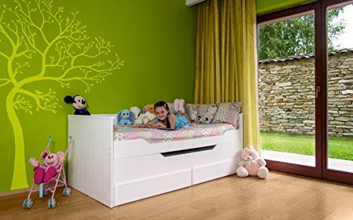 preisvergleich relita eb1195117 b90 funktionsbett ronny. Black Bedroom Furniture Sets. Home Design Ideas